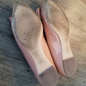 J. Crew Shoes - 🚫SOLD🚫 J Crew Patent leather bow flats